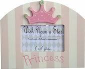 Wish Upon A Star Princess Picture Frame