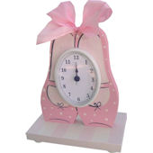 Wish Upon A Star Ballet Table Clock