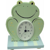 Wish Upon A Star Froggie Table Clock
