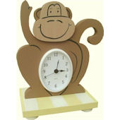 Wish Upon A Star Monkey Table Clock