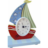 Wish Upon A Star Nautical Table Clock