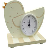 Wish Upon A Star Organic Birdie Table Clock