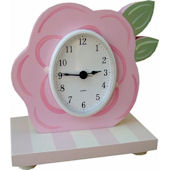 Wish Upon A Star Rose Table Clock