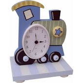 Wish Upon A Star Train Table Clock
