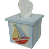 Wish Upon A Star Nautical Tissue Cover