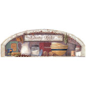 Country Kitchen Arch  Mural