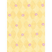 Yellow Daisy Harlequin Wall Paper