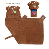 Zoocchini Petey the Dog Hooded Towel
